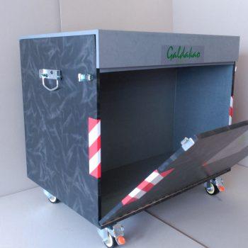 Caja-contenedor de madera tamaño XXL