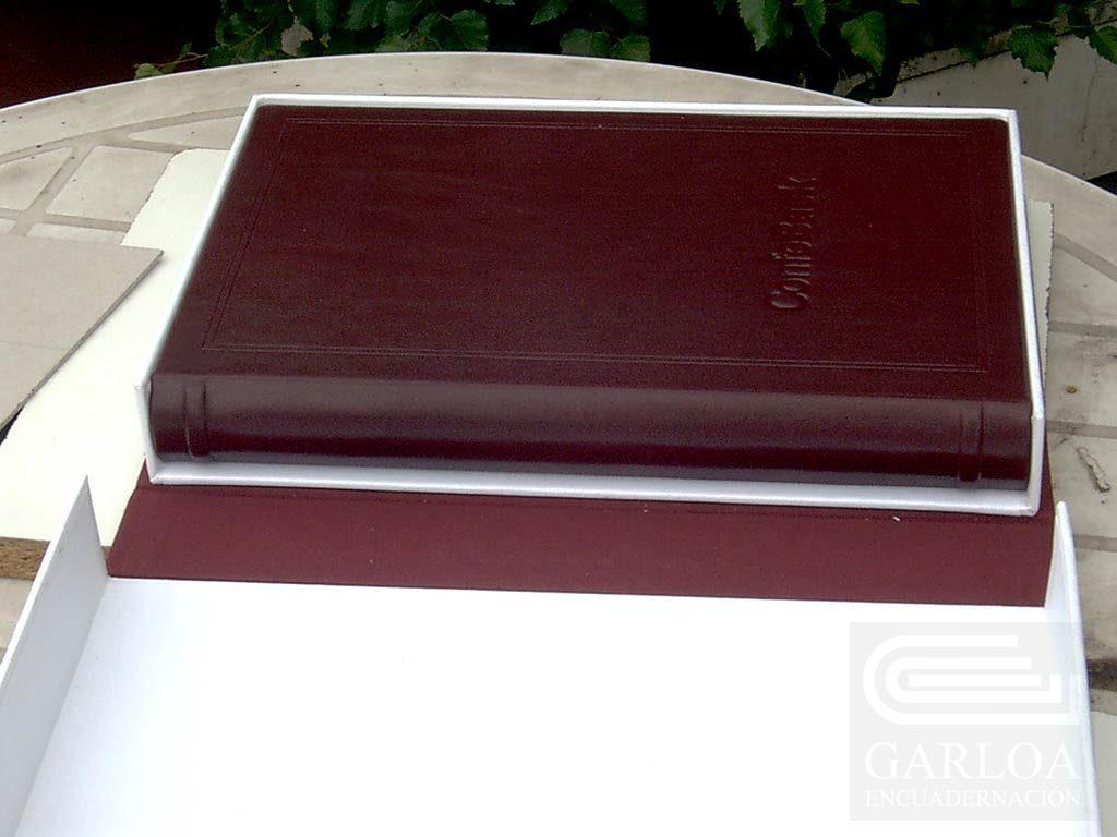 Caja para la protección de documentos