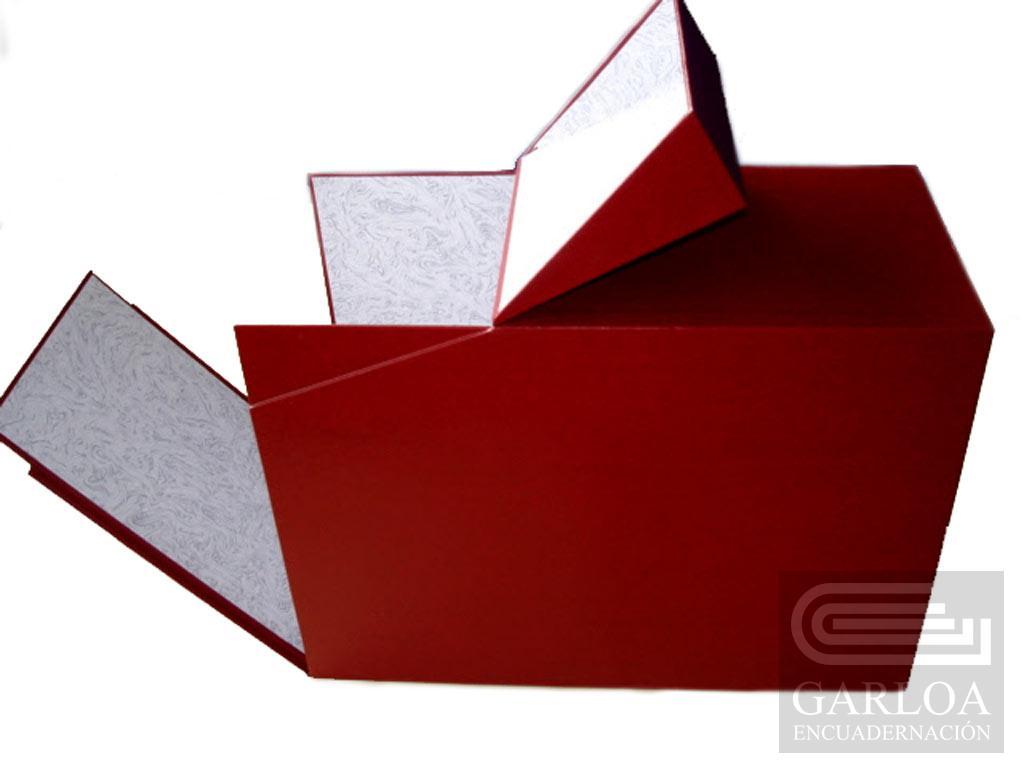 Cajas de cartón, modelo Diputación